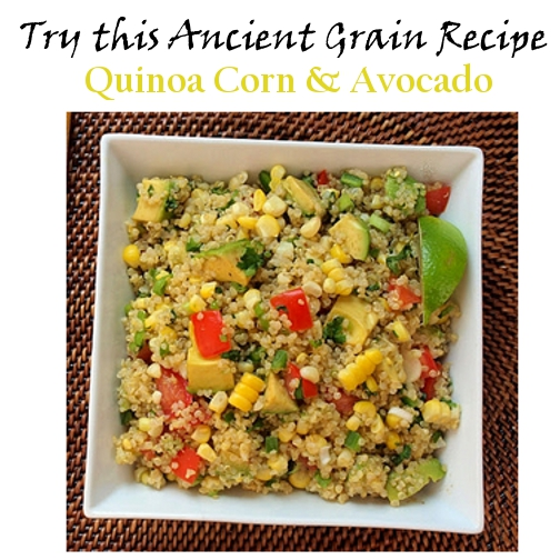 Quinoa ancient grain recipe known to reduce inflammation